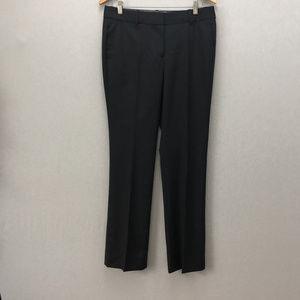 J. Crew Gray Pinstripe Wool Pants Size 8
